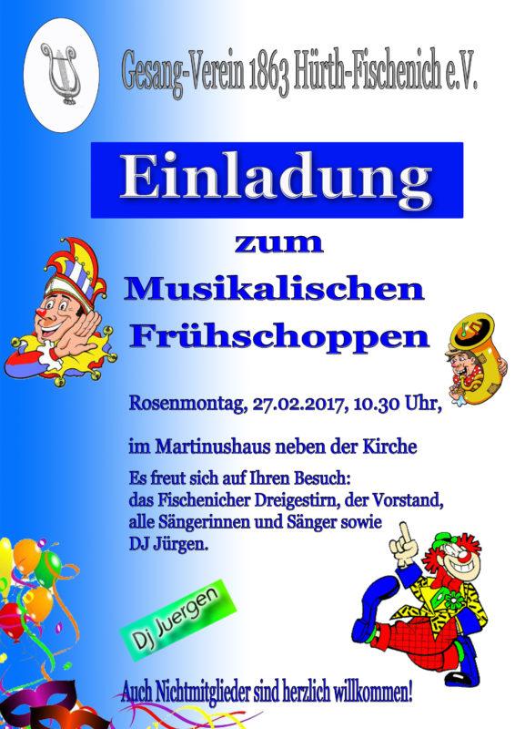 Musikalischer Frühschoppen 2017 im MARTINUSHAUS